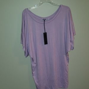 NWT lilac blouse